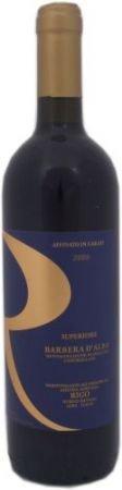 Wino czerwone z odmiany Barbera