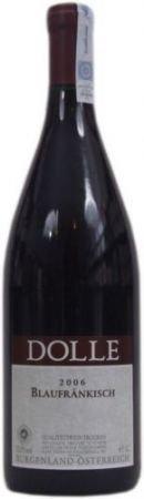 Wino czerwone z odmiany Blaufrankisch