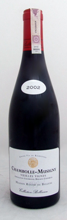 COLLECTION BELLENUM - Chambolle-Musigny Vieilles Vignes Rouge 2002