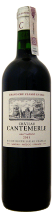 Chateau Cantemerle Haut-Medoc 2011