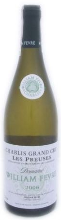 Domaine William Fevre Chablis Grand Cru Valmur 2007