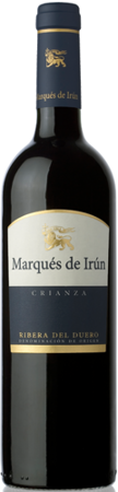 Marqués de Irún Ribera DO crianza red wine 2010