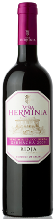 Viña Herminia Rioja DO Garnacha red wine 2010