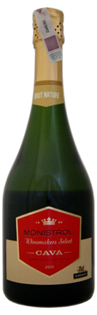 Marques de Monistrol Cava Brut Nature 2014